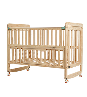 Paint-free Natural Wood, Safe Baby Sleep